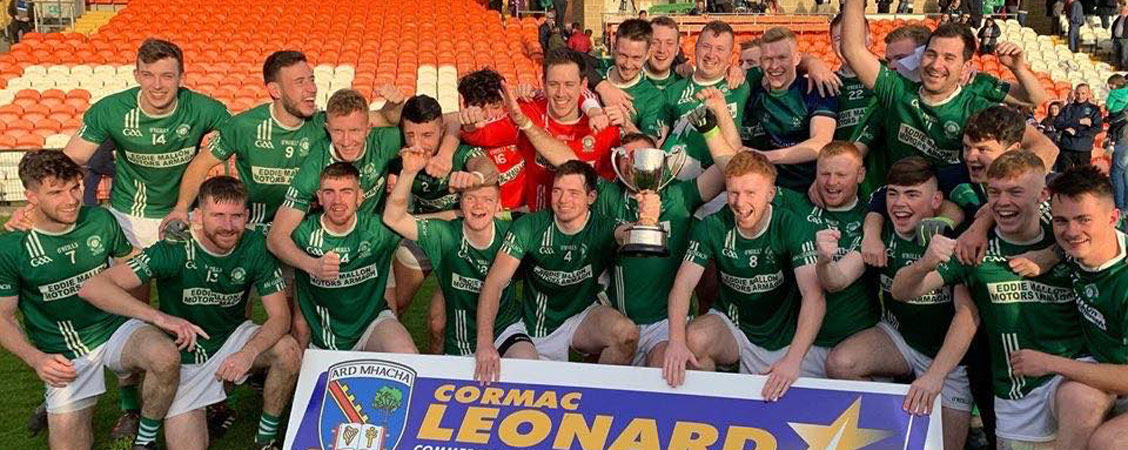 Armagh Intermediate Football Champions 2019